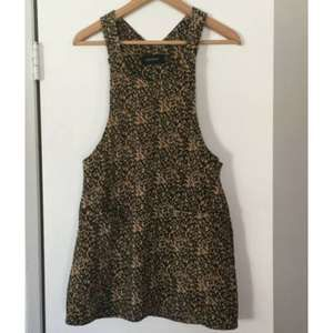 MINKPINK Animal Print Leopard Jumper Dress